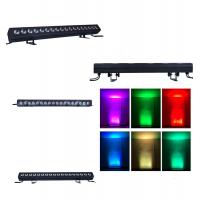 Buy cheap IP20 LED Wall Washer Lights , 18 * 12 Watt 4 In 1 RGBW Stage Lights Lighting from wholesalers
