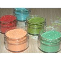 China Diamond Color Glitter Powder Epoxy Coated For Painting / Fashion on sale