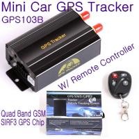 Cheap GPS103B Remote Control Car Vehicle Truck GPS Tracker Real Time GPS Tracking Locator System W/ Cut-off oil & power by SMS for sale