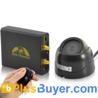 Cheap Real-Time Car GPS Tracker + Alarm System (GSM Camera, Microphone, Shock Sensor) for sale