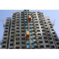 Buy cheap Secure / Applicable Enhance Work Efficiency Construction Hoist Building Site from wholesalers