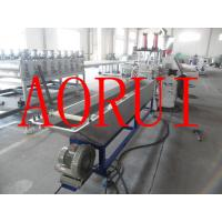 Cheap Recycling PET Plastic Granules Machine , PET Bottle Flakes Plastic Extrusion Line for sale