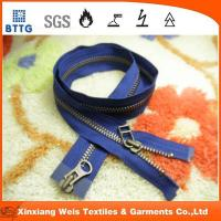 Cheap Xinxiang EN11612 NO5  metal close end metal fire retardant zipper for sale
