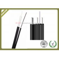 Buy cheap 2Core Outdoor FTTH Drop Fiber Optic Wire Flat Cable GJXFCH with Non-metal from wholesalers