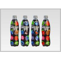 Cheap Printed Heat Shrink Bottle Sleeves , Personalized Labels For Water Bottles PVC Shrink Films for sale