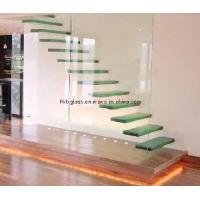 Cheap Laminated Glass Stair Treads (GST-068) for sale