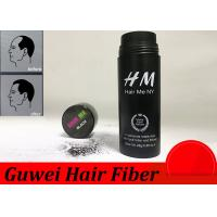 Cheap OEM 15 Colors Hair Enhancement Fibers , Hair Thinning Concealer for sale