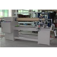 Single Shaft  BOPP / PVC / Fabric / PE Tape Cutter Machine , Automatic Control