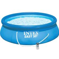 """China Intex 10'x30"""" Easy Set Above Ground Inflatable Swimming Pool with Pump 56970 on sale"""