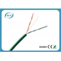 2 Pairs 4 Cores UTP Telephone Line Cable With 24AWG Bare Copper Conductor