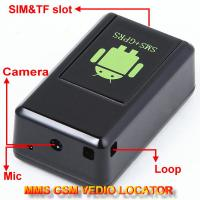 Cheap GF-08 GSM MMS Video Photo Transmit Camera Recorder GPS Tracker Aduio Listening Bug 3-in-1 for sale