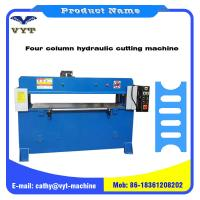 Cheap Hot Sale Four Column Hydraulic Cutting Machine for Plastic Weaving for sale