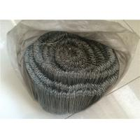 Cheap Bar Tie Galvanised Iron Wire With Double Loop Tie , 16 Gauge 1000pcs Per Roll wholesale