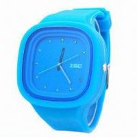 Cheap 2012 Newest Fashionable Silicone Rubber Analog Quartz Watch, Japan Movement for sale
