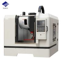 Cheap CNC Vertical Milling Machine VMC850 550X350X500 Table Travel 0.02 Positioning Accuracy for sale