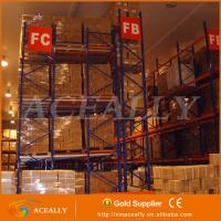 Cheap Heavy Duty Push back pallet racking systems for sale