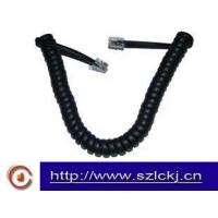 Cheap Indoor Telephone Handset Coil cable ( flat cable) for sale