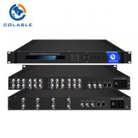 Cheap 8 Channels AV To IP Video Encoder , MPEG - 2 MPEG - 4 H 264 Encoder COL5181E for sale