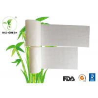 Cheap Eco Friendly White Bamboo Diaper Liners Customized Color Available 30-60 gsm for sale