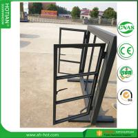 Cheap Latest modern simple steel/aluminum/iron window grill design window for homes wholesale
