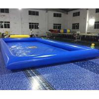 Cheap Double Stitching Above Ground Swimming Pools With Repair Kits For Parks for sale