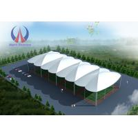 Anti - UV PVDF Tensioned Membrane Structures Outdoor Sports Tents With Steel Frame