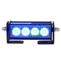 Cheap LED warning bars police car  LED strobe light beacon 2W DC12V with holder for car for sale