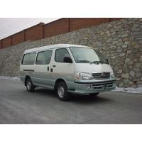 Cheap 15 Seats Mini Bus Van , Van Mini Bus White High Roof Gasoline Engine for sale