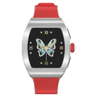 """Cheap Metal Shell TPU Band 1.22"""" Blood Oxygen Smartwatch for sale"""
