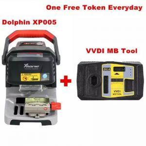 China Xhorse Condor Dolphin XP005 Automatic Key Cutting Machine Plus VVDI MB Tool on sale