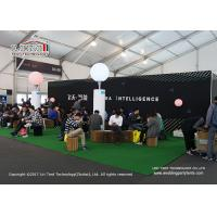 Buy cheap Flame Retardance Big Outdoor Exhibition Tents Aluminum Frame For Brand Company from wholesalers