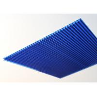 Cheap 10mm Polycarbonate Roofing Sheets Twin Wall High Light Transmission for sale