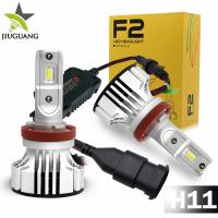 Cheap F2 Led Car Headlight Bulbs 6000 - 6500 K Color Temperature 24 Months Warranty for sale