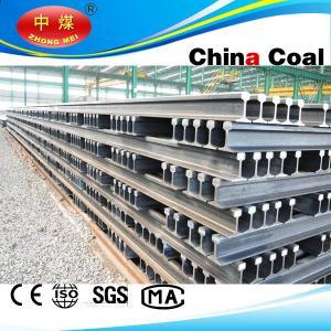 China China Coal railroad steel rail GB2585-2007 Standard Steel Products U71Mn 43kg Heavy Rails on sale