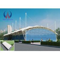 Cheap Spacious Light Weather Proof Tensile Membrane Roof Shelters High Translucency wholesale