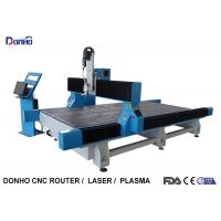 China Blue Color Desktop CNC Milling Machine With Protective Cover On X Y Axis Rails on sale