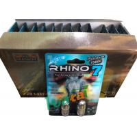 Cheap 3D Material Rhino7 Double Herbal Men Sex Pills For Long Lasting Erections for sale