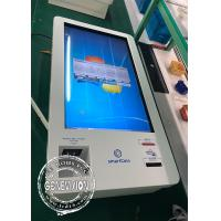 Cheap Korea Market 32 Inch Infrared Touch LCD Self Service Kiosk Windows Cash Receiver Payment Kiosk for sale