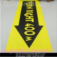 Quality Uv Printing Outdoor Polyester Vinyl Advertising Banners For Business wholesale