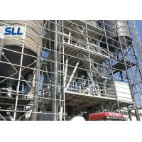 China Tower Type Full Automatic Dry Mix Mortar Production Line Carbon Steel Material on sale