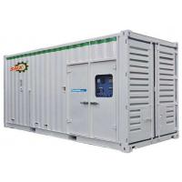 China Construction Container Diesel Power Generator Set 230V/400V Rated Voltage AC Three Phase on sale
