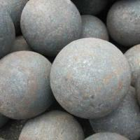 Buy cheap 75MnCr/65Mn/60Mn High Hardness φ20mm-150mm Forged Grinding Media Steel Ball from wholesalers