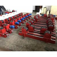 Cheap Conventional Tank Turning Rolls , 5 Ton Welding Rotator Stands Lead Screw Adjustment for sale