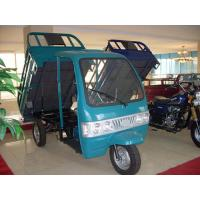 Cheap 500 kg Passenger / Cargo Motor Tricycle With Electrical / Kick Starting for sale
