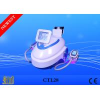 Cheap Six Laser Pads Cryolipolysis Removing Cellulite Machine With Cavitation/RF Handles for sale