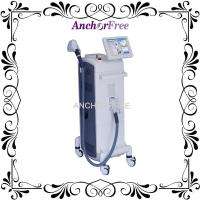 Cheap Painless 808nm Professional Laser Hair Removal Machine With FHR Mode / HR Mode for sale