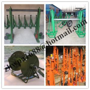 Cheap factory Hydraulic Cable Jack Set,Cable Drum Jacks,Use Mechanical Drum Jacks for sale