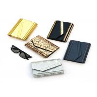 Cheap Fashion Ladies Envelope Clutch Bag , Small Size Black And Gold Clutch Bag for sale