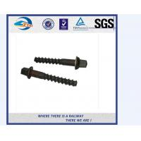 Cheap High Tensile Medium / Large Metal Railway Sleeper Screws Diameter 12mm - 27mm for sale