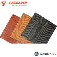 China wood grain fiber cement siding panel, exterior wall cladding, walling, partition, cladding on sale